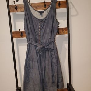 Size 4 Tommy Hilfiger Denim belted dress